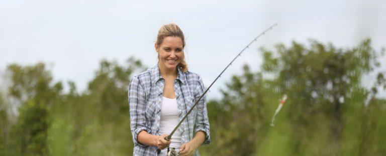 Woman-Fishing